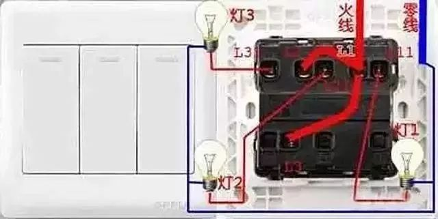 家庭电路控制系统大全,开关控制电路大全,值得收藏!_5