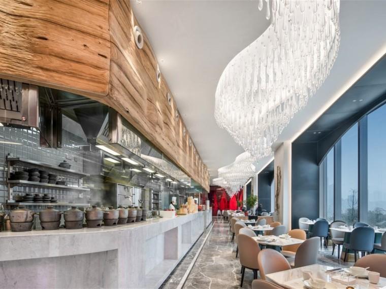 重庆国金中心的柴门头啖汤餐厅