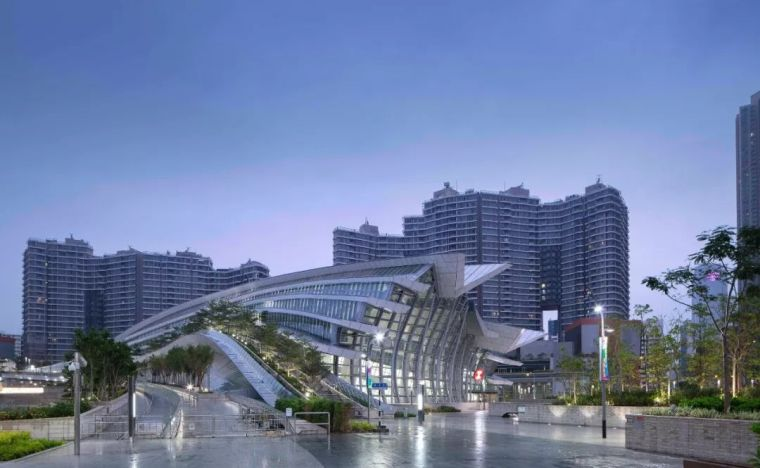 Aedas新作丨香港西九龙站 —— 一个可以认真看风景的地方!