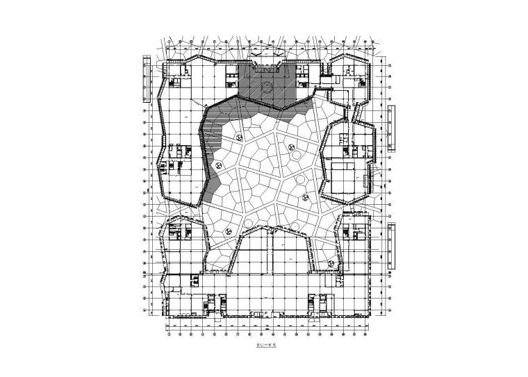 [北京]5层科技园办公楼幕墙施工图(2014)