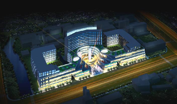 漕宝路地块规划概念方案设计(PDF45页)