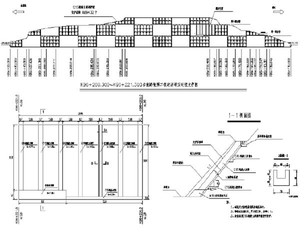 昆明东绕城高速公路工程设计竣工图纸