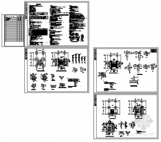 某新增电梯改造加固设计图