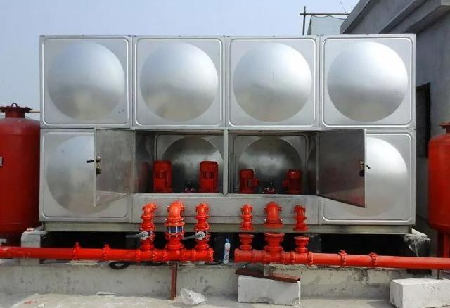高位消防水箱的设计资料