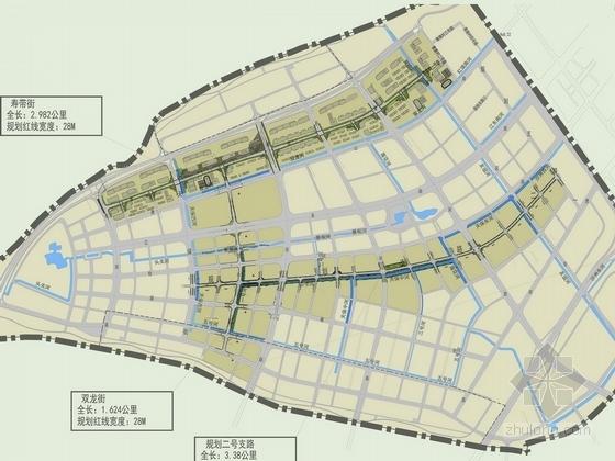 [南京]休闲生态滨河知名地产街道景观设计方案