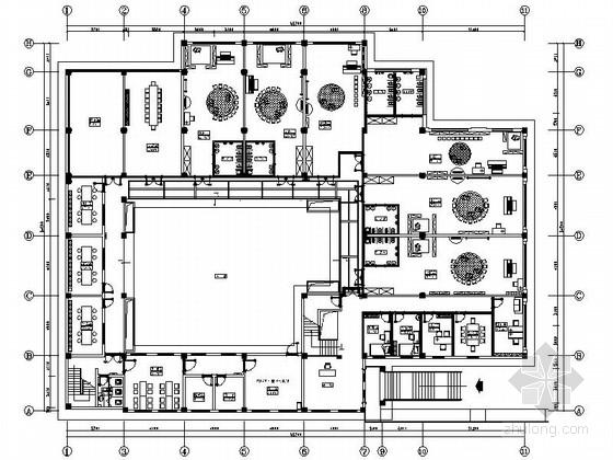 [天津]精品花园小镇时尚幼儿园室内设计装修图(含效果)