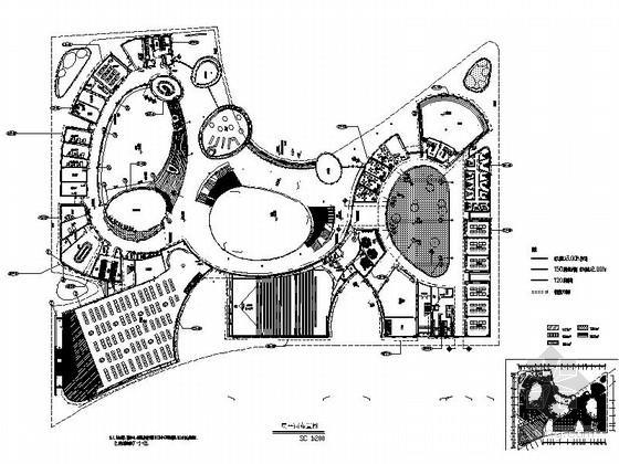 [浙江]精品科技城现代小学室内设计施工图(图纸细致完整 推荐!)