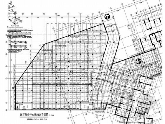 [广东]18万平住宅及商业综合体给排水图纸(直饮水 雨水收集回用)