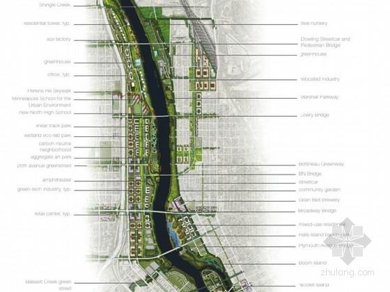 [美国]国外滨水竞赛景观设计方案