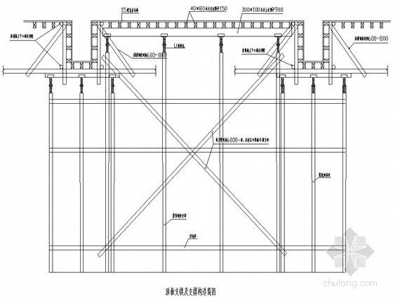 [天津]住宅楼胶合板模板施工方案(碗扣架支撑)