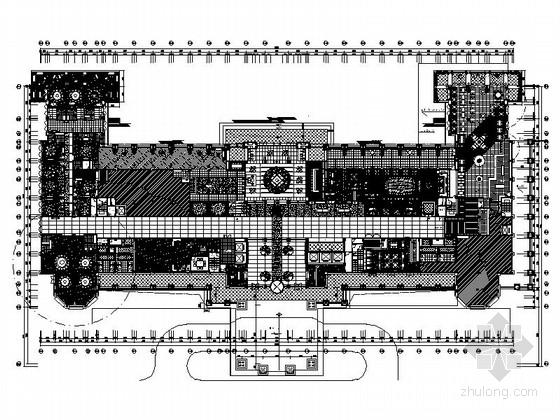 [江苏]超豪华五星级酒店全套装修设计CAD施工图(含实景)