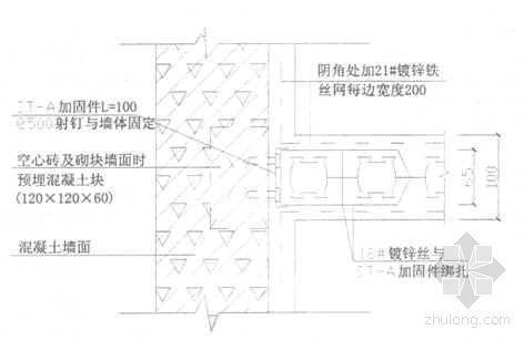 GQ塑合中空内模水泥墙施工工法