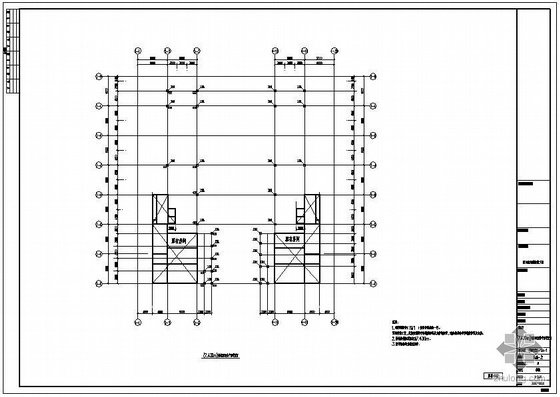 某机场航站楼改造工程钢结构图纸