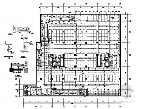 高层住宅楼给排水成套图纸(直饮水系统 中水系统)
