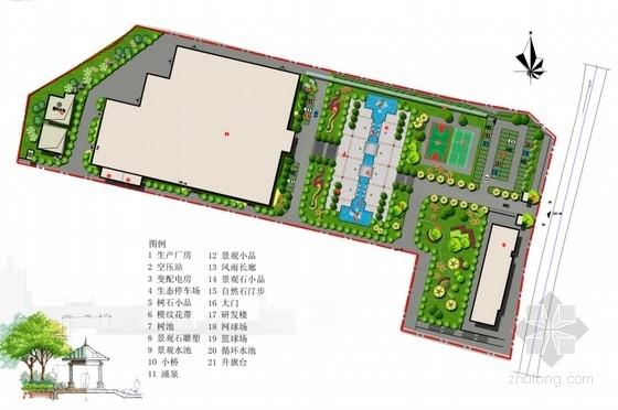 [重庆]机电厂房景观改造设计方案