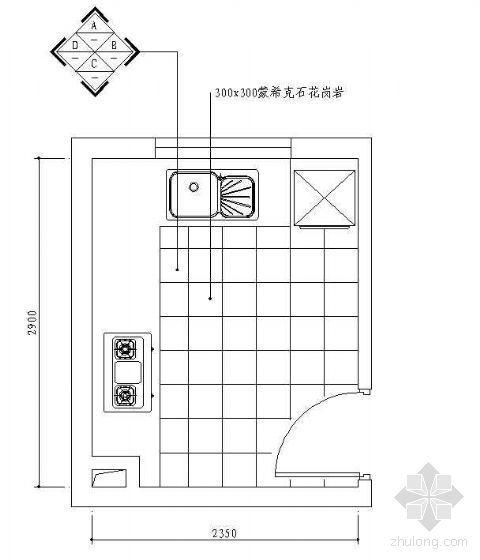 顶棚布置CAD图块