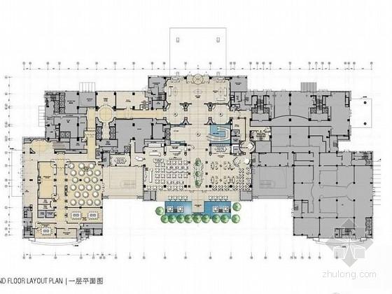 [青岛]连锁旅馆品牌高档五星级商务酒店设计方案