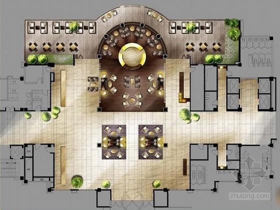 [贵阳]总投资10亿全球豪华五星级酒店设计方案