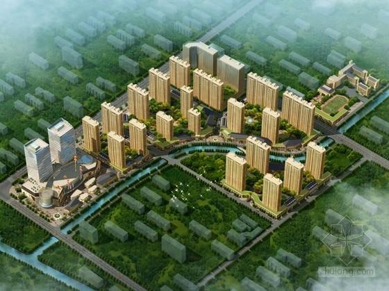 [山東]城市新區商住地塊規劃及單體建筑設計方案文本(知名建筑設計院)