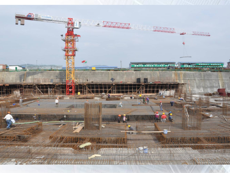 [QC成果]3m厚大体积承台底板混凝土裂缝控制