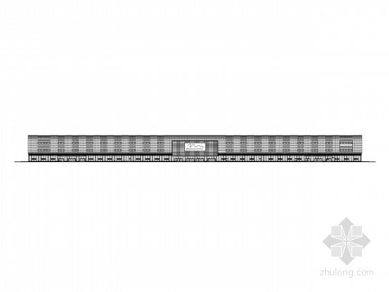 [苏州]三层现代风格大型展览馆建筑施工图(知名设计)
