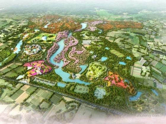 [重庆]浪漫山城休闲农业景观规划设计方案