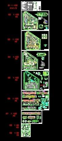 [河南]两层奔驰汽车4S店建筑施工图(甲级设计院)-缩略图