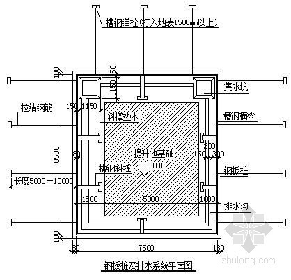 [辽宁]某污水处理厂基坑支护及降水施工方案(钢板桩)
