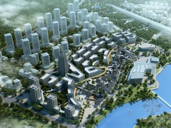 [山东]大型文化中心规划及单体设计方案文本