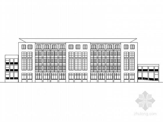 [徐州]某五层社区服务中心建筑施工图