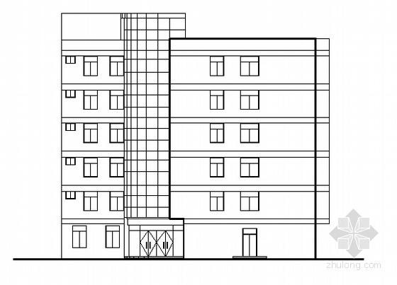 黄埔区红十字医院大楼建筑施工图