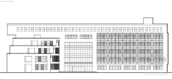 [天津]某大学教学楼建筑方案带效果图