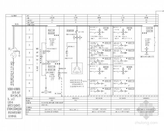 [浙江]市区中学配电房2台630KVA专变工程