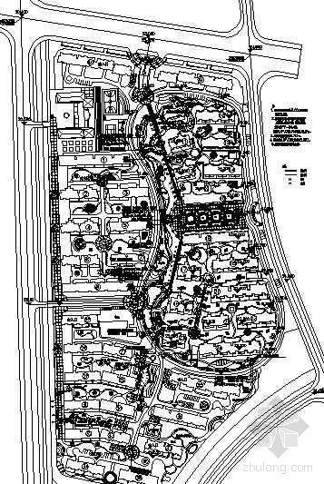 [江西南昌]某小区水景给排水设计图