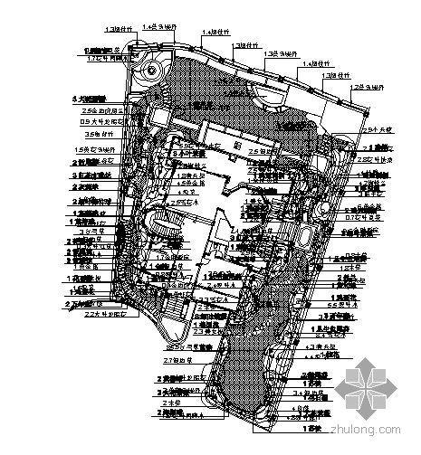 珠海私家花园9号别墅景观施工图