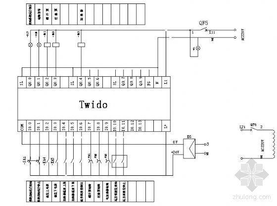 油水分离器PLC控制原理图