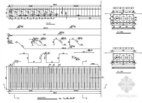 10米简支桥上部空心板节点详图设计