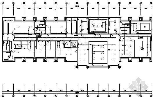 某机械有限公司办公楼水电竣工图