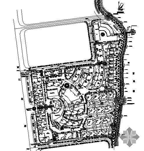 某小区规划设计平面