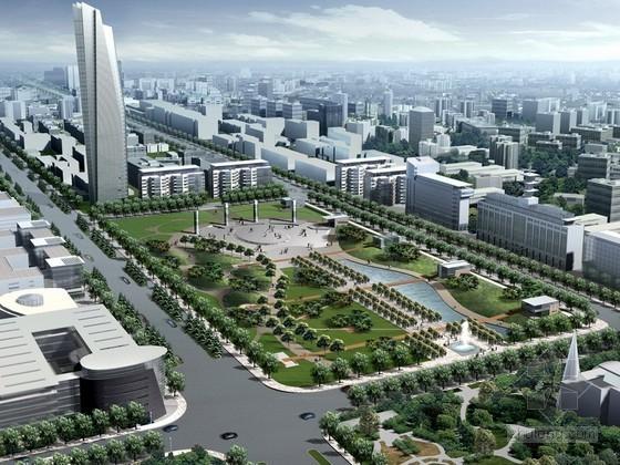[郑州]某景观大道概念性规划设计方案文本