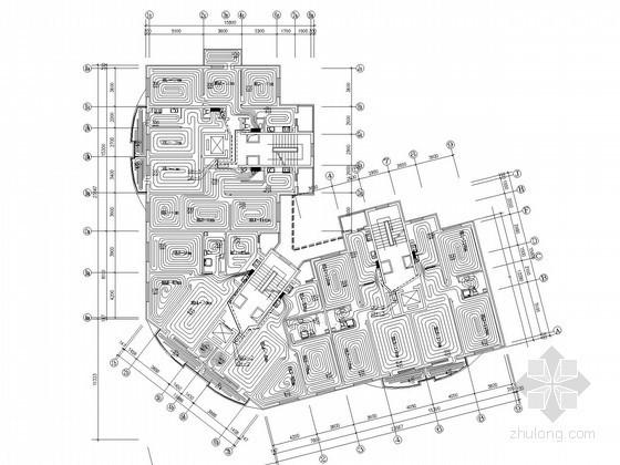 小型小高层办公楼地板辐射采暖系统设计施工图