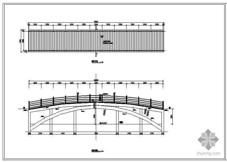 拱桥施工大样图