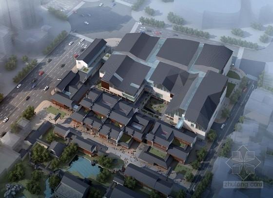 [南京]高层古典风格多业态商业综合体建筑设计方案文本