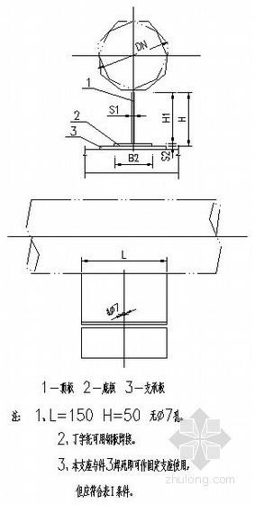 管支架安装图