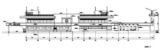 某小区会所建筑施工图-2