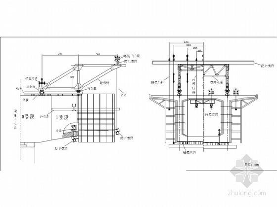 40+64+40m连续箱梁施工组织设计(挂篮悬臂灌注法 满堂支架现浇)