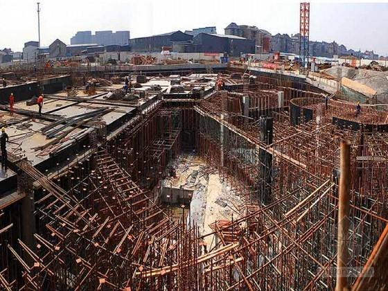 地铁三线换乘车站土建工程实施性施工组织设计339页(全逆作法 明挖法)