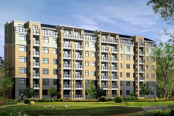[河北]住宅楼土建工程量计算及预算书(全套38页)
