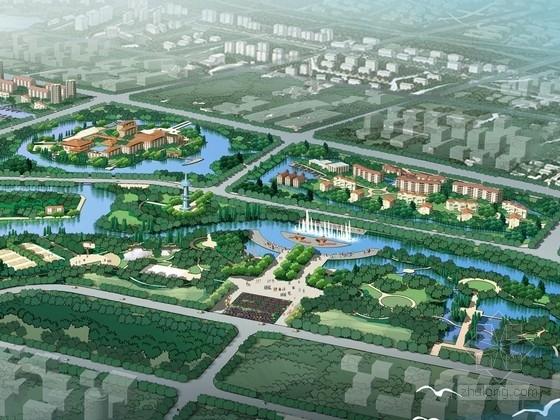 [广西]岭南百里滨水长廊景观规划方案(详细)