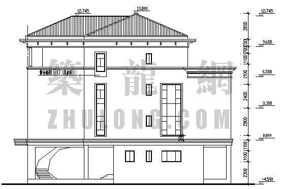 多层别墅施工图-2